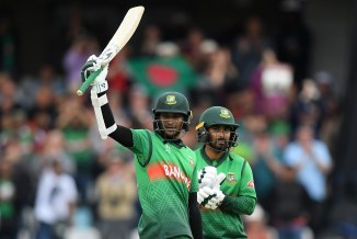 Shakib Al Hasan 124 not out Bangladesh West Indies World Cup 23rd Match Taunton cricket