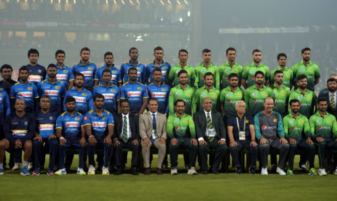 Sri Lanka could tour Pakistan for three ODIs and three Twenty20 Internationals in Karachi and Lahore in December cricket