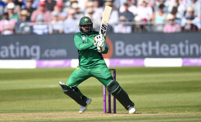 Mohammad Wasim said Asif Ali's shot selection has led to his downfall