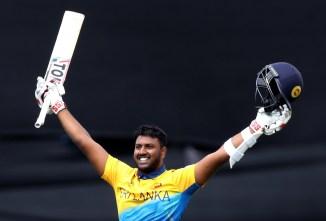 Avishka Fernando 104 Sri Lanka West Indies World Cup 39th Match Durham cricket