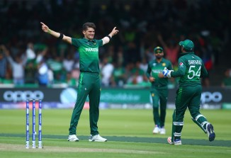 Shaheen Shah Afridi six wickets Pakistan Bangladesh World Cup 43rd Match Lord's cricket