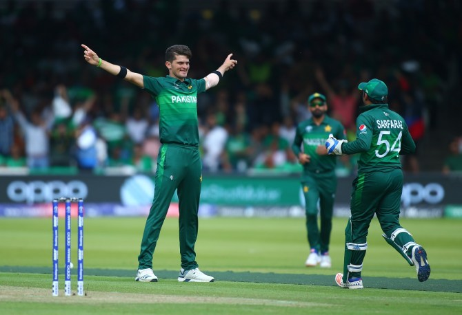 Shaheen Shah Afridi registered the best bowling figures in the World Cup when he took 6-35 against Bangladesh Pakistan cricket