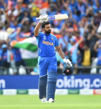 Rohit Sharma 103 India Sri Lanka World Cup 44th Match Headingley cricket