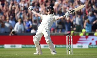 Ben Stokes 135 not out England Australia 3rd Ashes Test Day 5 Headingley cricket