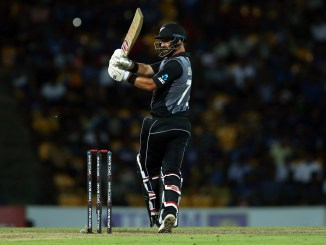Colin de Grandhomme 59 Sri Lanka New Zealand 2nd T20 Pallekele cricket