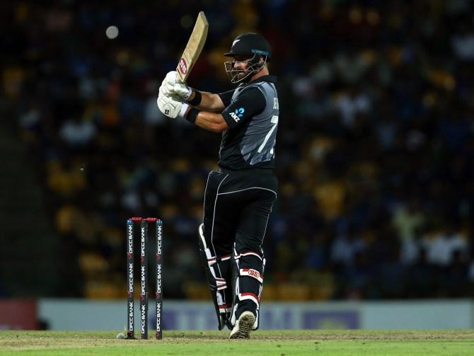 Colin de Grandhomme 59 Sri Lanka New Zealand 2nd T20 Pallekele cricket