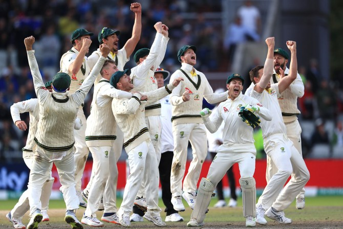 Australia retain the Ashes in England for the first time since 2001 4th Ashes Test Day 5 Manchester cricket