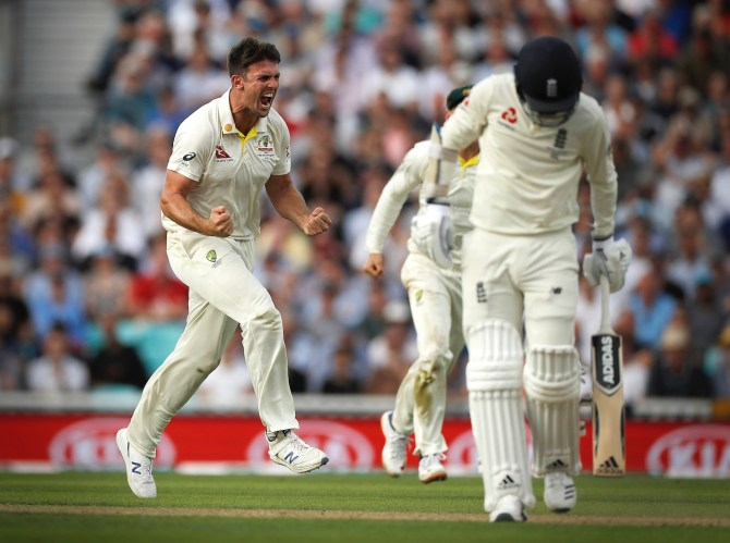 Mitchell Marsh four wickets England Australia 5th Ashes Test Day 1 The Oval cricket