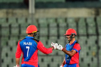 Najibullah Zadran 69 not out Afghanistan Zimbabwe T20 tri-series 2nd Match Dhaka cricket