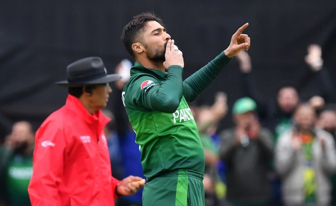 Pakistan seamer Mohammad Amir said a club sandwich always does the trick pre or post-workout