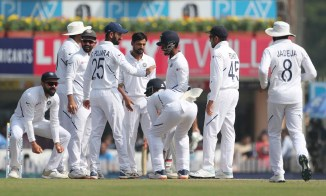 Shahbaz Nadeem takes two in two as India beat South Africa by an innings and 202 runs in Ranchi cricket