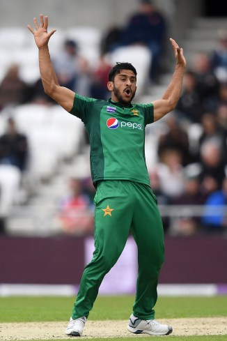 Hasan Ali shows off bhangra dance moves Pakistan cricket