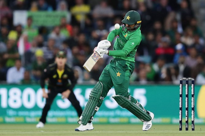 Mohammad Wasim said the number four, five or six spot could be Haris Sohail's