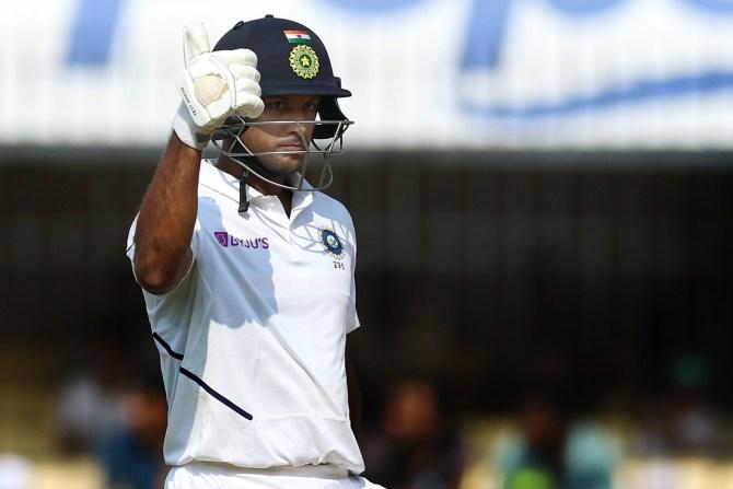Mayank Agarwal 243 India Bangladesh 1st Test Day 2 Indore cricket