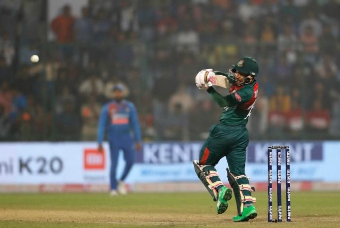 Mushfiqur Rahim 60 not out India Bangladesh 1st T20 Delhi cricket
