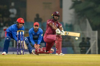 Evin Lewis 68 Afghanistan West Indies 1st T20 Lucknow cricket