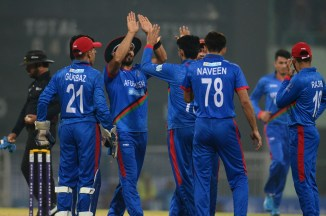 Karim Janat five wickets Afghanistan vs West Indies 2nd T20 Lucknow cricket