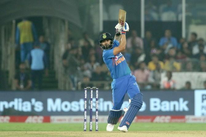 Virat Kohli 94 not out India West Indies 1st T20 Hyderabad cricket