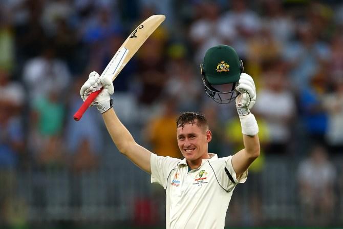 Marnus Labuschagne 110 not out Australia New Zealand 1st Test Day 1 Perth cricket