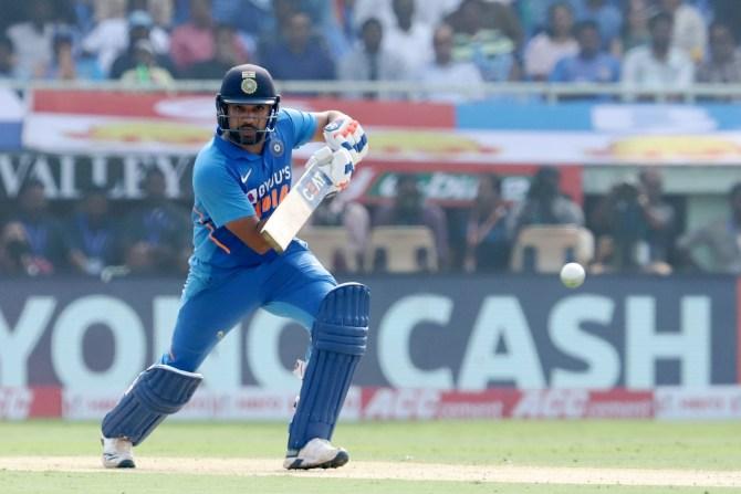 Rohit Sharma 159 India West Indies 2nd ODI Visakhapatnam cricket