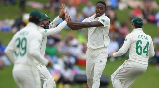 Kagiso Rabada four wickets South Africa England 1st Test Day 4 Centurion cricket