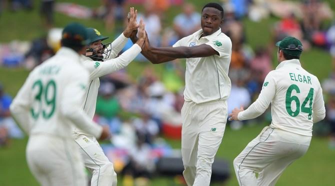 Kagiso Rabada four wickets South Africa England 1st Test Day 4 Centurion cricket