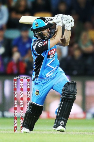 Jonathan Wells 68 not out Adelaide Strikers Melbourne Stars Big Bash League BBL 13th Match cricket