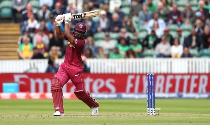Evin Lewis 102 West Indies Ireland 3rd ODI Grenada cricket