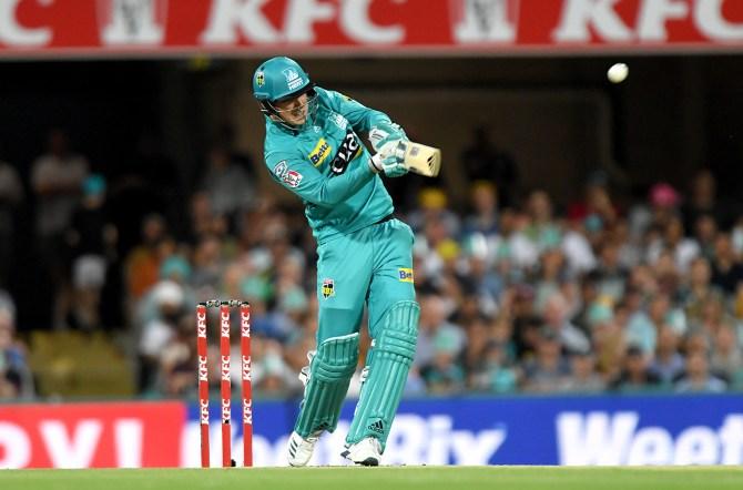 Tom Banton 56 Brisbane Heat Sydney Thunder Big Bash League BBL 25th Match cricket