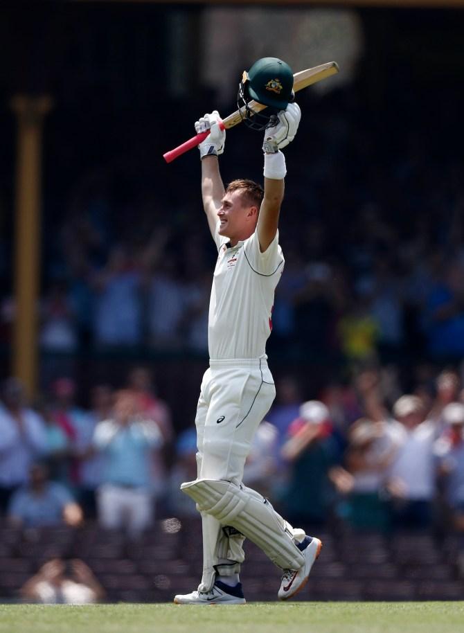 Marnus Labuschagne 215 Australia vs New Zealand 3rd Test Day 2 Sydney cricket