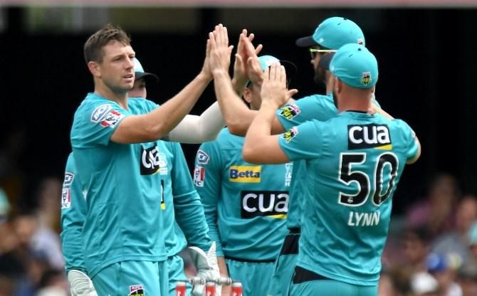 James Pattinson five wickets Brisbane Heat Adelaide Strikers Big Bash League BBL 36th Match cricket