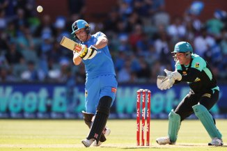 Phil Salt 67 not out Adelaide Strikers Brisbane Heat Big Bash League BBL 40th Match cricket