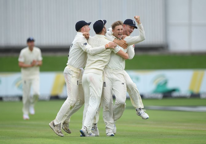 Joe Root four wickets South Africa England 3rd Test Day 4 Port Elizabeth cricket