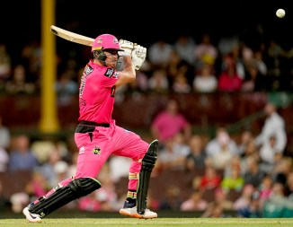 Moises Henriques 72 Sydney Sixers Melbourne Stars Big Bash League BBL 45th Match cricket