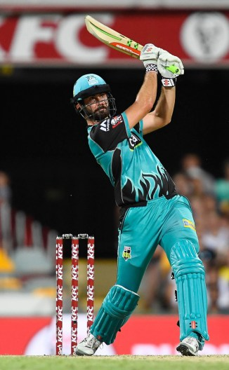 Ben Cutting 43 not out Brisbane Heat Hobart Hurricanes Big Bash League BBL 29th Match cricket