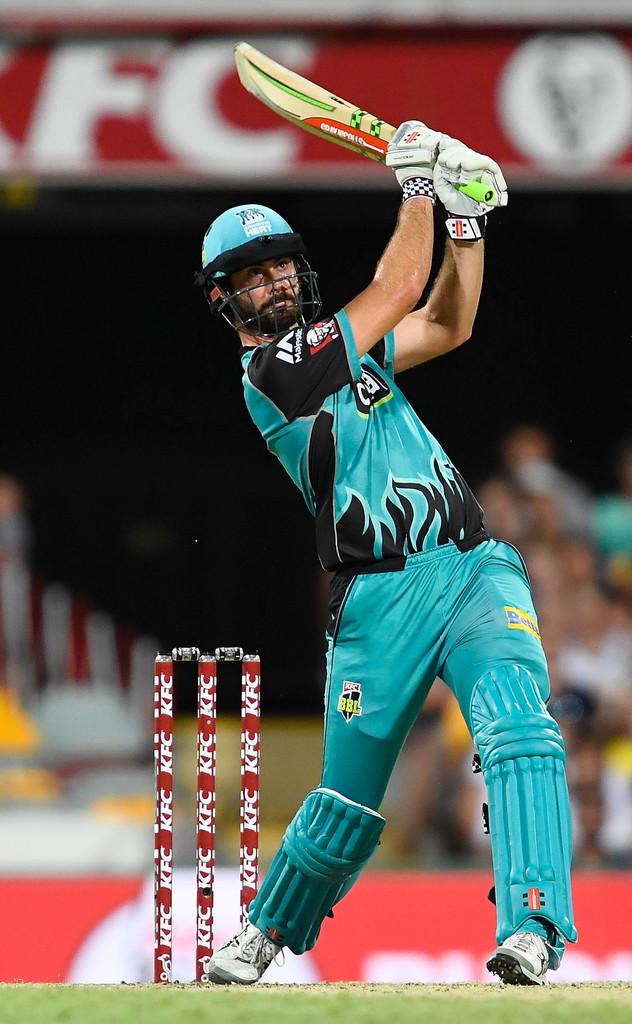 Ben Cutting 43 not out Brisbane Heat Hobart Hurricanes Big Bash League BBL 29th Match cricket
