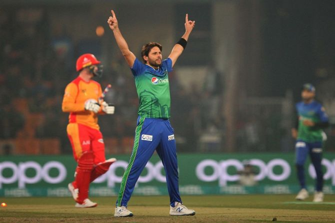 Shahid Afridi wants Punjab, Sindh and FATA to get Pakistan Super League PSL teams cricket