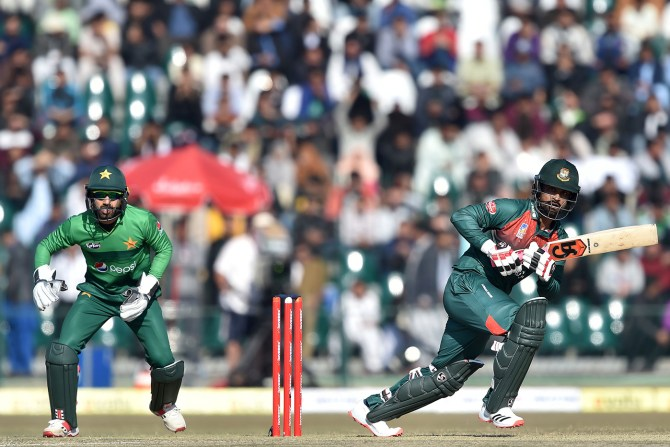 The one-off ODI between Pakistan and Bangladesh has been rescheduled to April 1 cricket