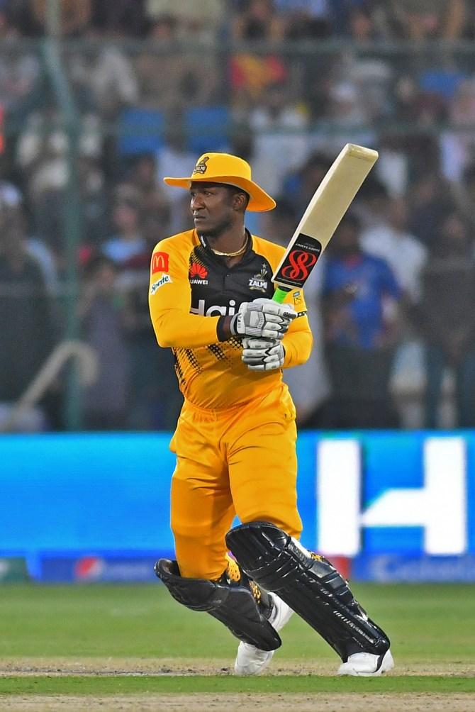 Darren Sammy happy to see the Pakistan Super League PSL being played in Pakistan Peshawar Zalmi cricket