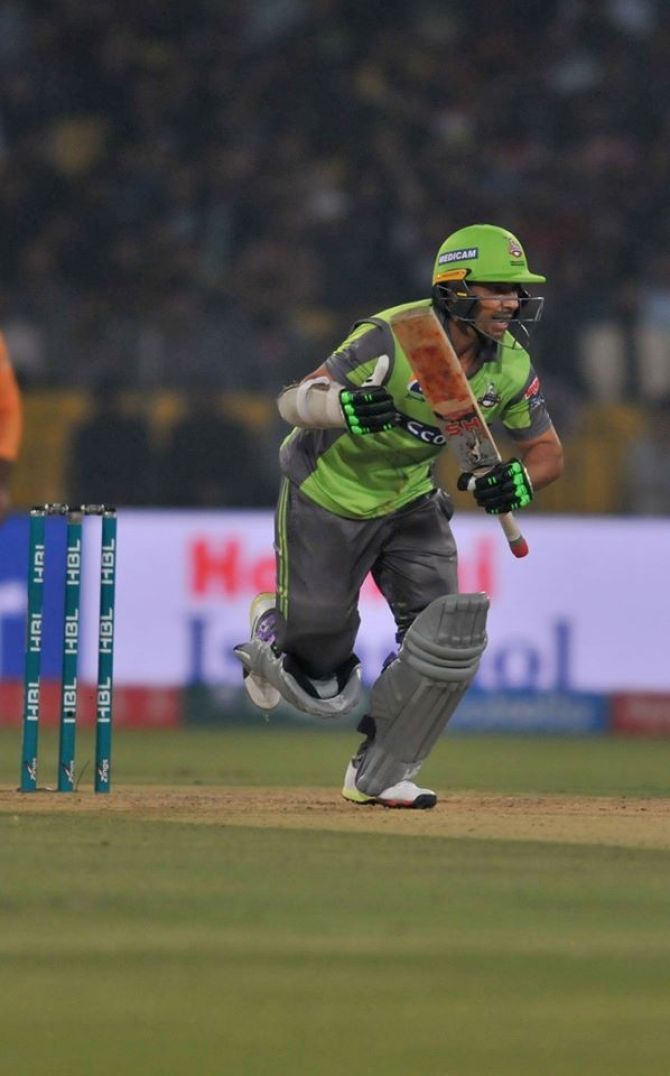 Sohail Akhtar reveals why Salman Butt was picked over Fakhar Zaman in the Lahore Qalandars' Pakistan Super League PSL match against Islamabad United cricket