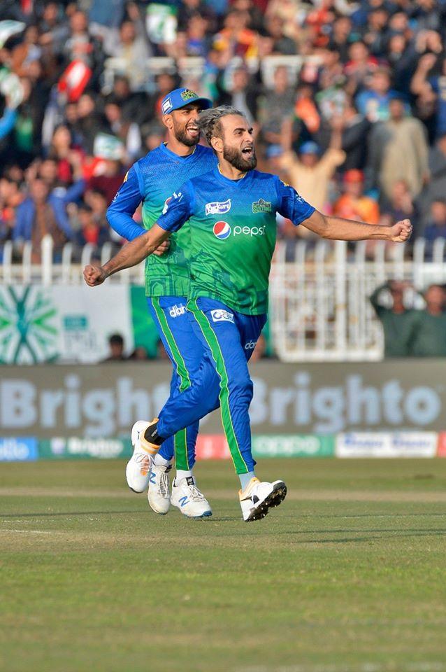 Imran Tahir believes Shan Masood has done a great job captaining the Multan Sultans Pakistan Super League PSL cricket