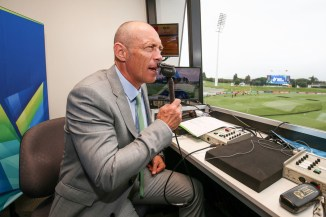 Danny Morrison said you little ripper after Babar Azam scored his maiden T20 International century