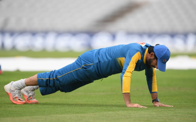 Misbah-ul-Haq said there are no compromises when it comes to Sharjeel Khan's fitness