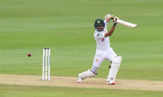 Nasser Hussain said Babar Azam has a slight technical flaw outside off-stump
