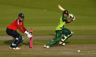 Haider Ali was fined 30 percent of his match fee for showing dissent to the umpire after being given out lbw