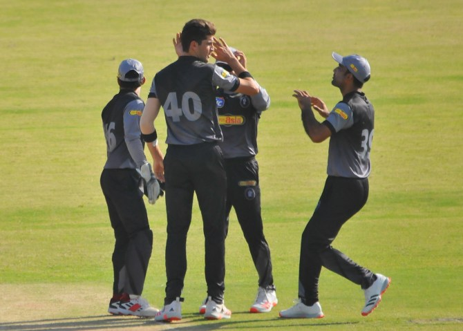 Shaheen Shah Afridi said he bowls with enjoyment after his five-for in the National T20 Cup