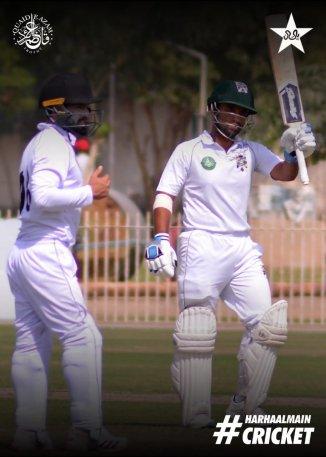 Faisal Iqbal has told Sami Aslam to keep piling the runs
