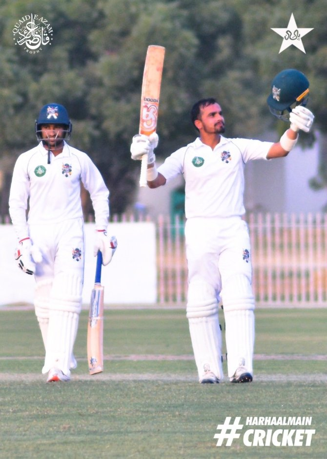 Pakistan wicketkeeper-batsman Bismillah Khan said he is on a roll following his century in the Quaid-e-Azam Trophy