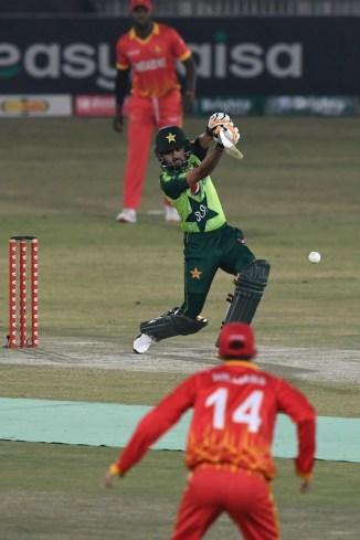 Pakistan captain Babar Azam can't stop scoring runs and said he is enjoying himself a lot when batting