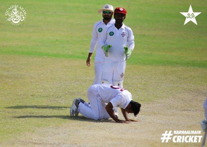 Pakistan spinner Zahid Mahmood said he has always believed in hard work
